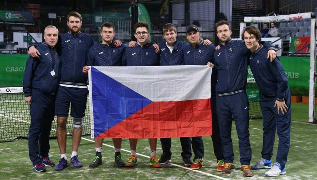 Foto de la Selección Checa en el Europeo de Estoril de 2017