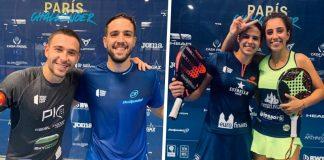 Capra / Campagnolo and Brea / González, take the Paris Challenger finals