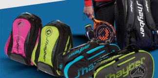 New J'hayber paleteros and backpacks, designed with Agustín Gómez Silingo