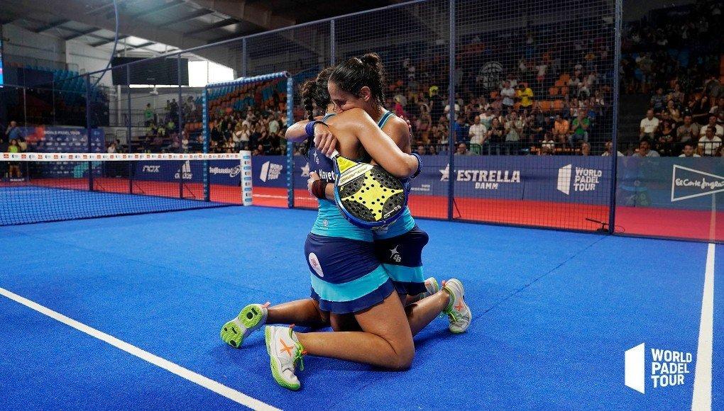 Majo y Mapi vencieron en las semifinales del Menorca Open