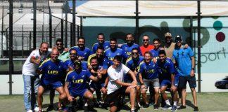 Nueva victoria de Los Caballeros de Pádel Málaga ante Rivervial - Vals Sport Cónsul