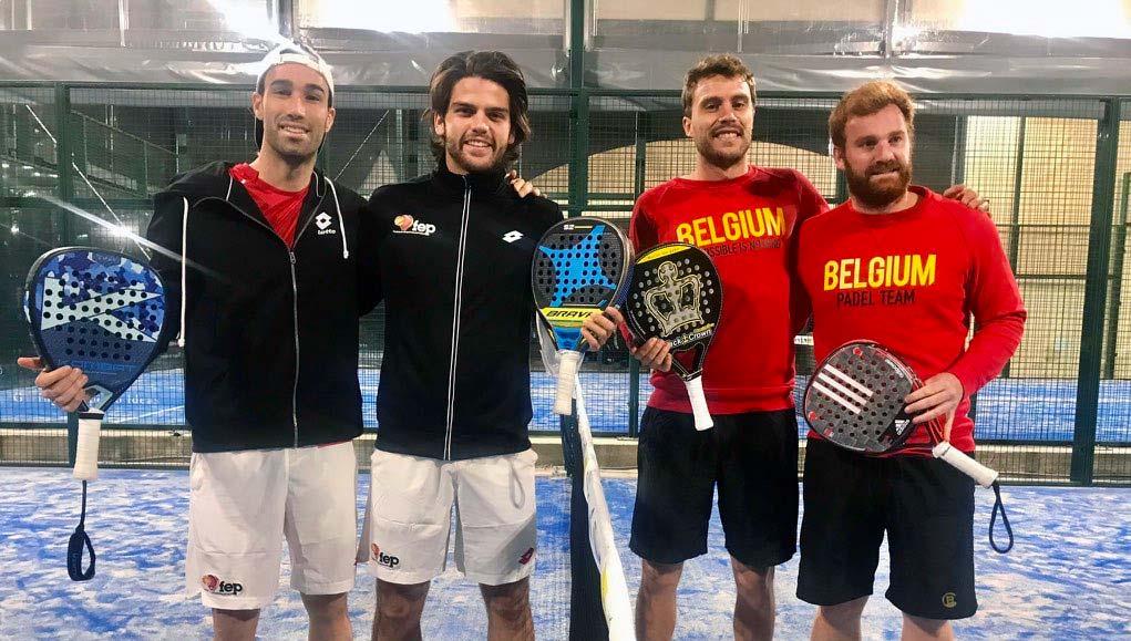 España lidera con claridad las semifinales del Europeo de Pádel de Lisboa