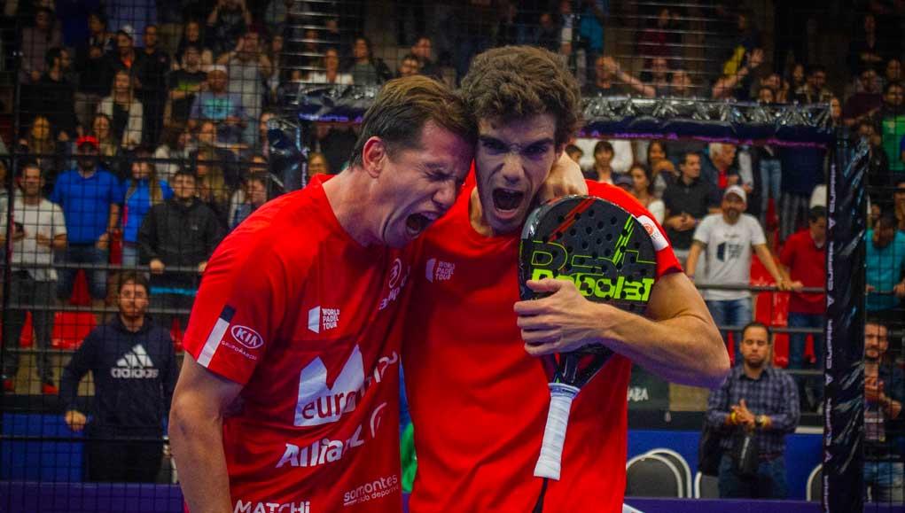 Paquito Navarro y Juan Lebrón ganan la final del Sao Paulo Open con remontada