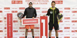 Alba y Gil a la cabeza de la Madrileña tras la última prueba del Circuito de Pádel Estrella Damm