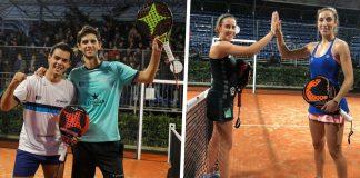 Nieto/Marina y Talavan/Virseda ganan el Open por parejas del Europeo de Pádel de Roma