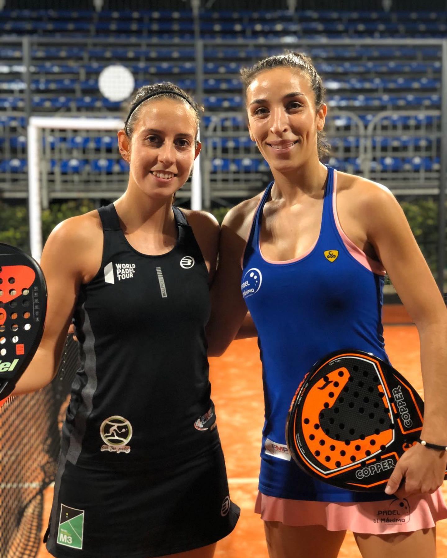 Marta Talavan y Verónica Virseda
