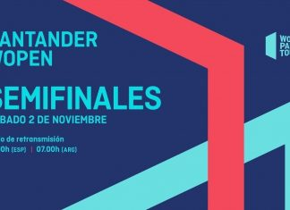 Sigue desde las 11 el streaming de las semifinales del Santander WOpen