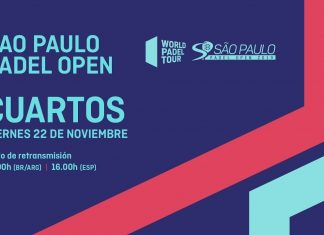 Sigue desde las 16:00 el streaming de los cuartos del Sao Paulo Open