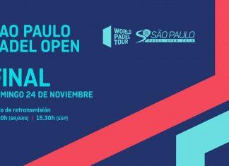 Sigue desde las 15:30 el streaming de la final del Sao Paulo Open