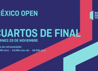 Sigue ya en directo el streaming de los cuartos del México Open