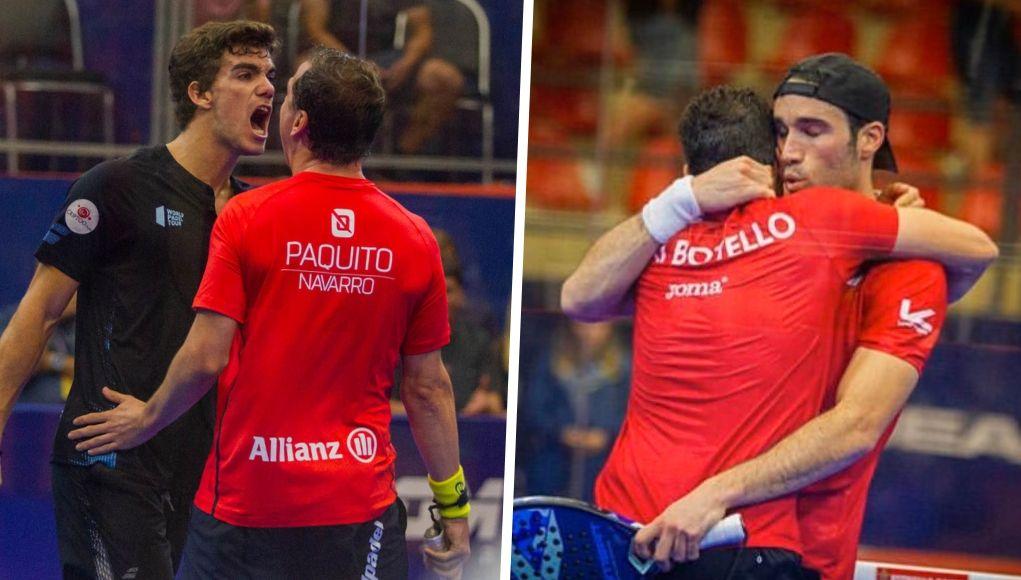 Semifinales del Sao Paulo Open: 2 parejas españolas se meten en la final