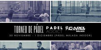 Termina noviembre jugando el Torneo Padel Addict - Padel Nuestro Málaga en Pádel Málaga Indoor