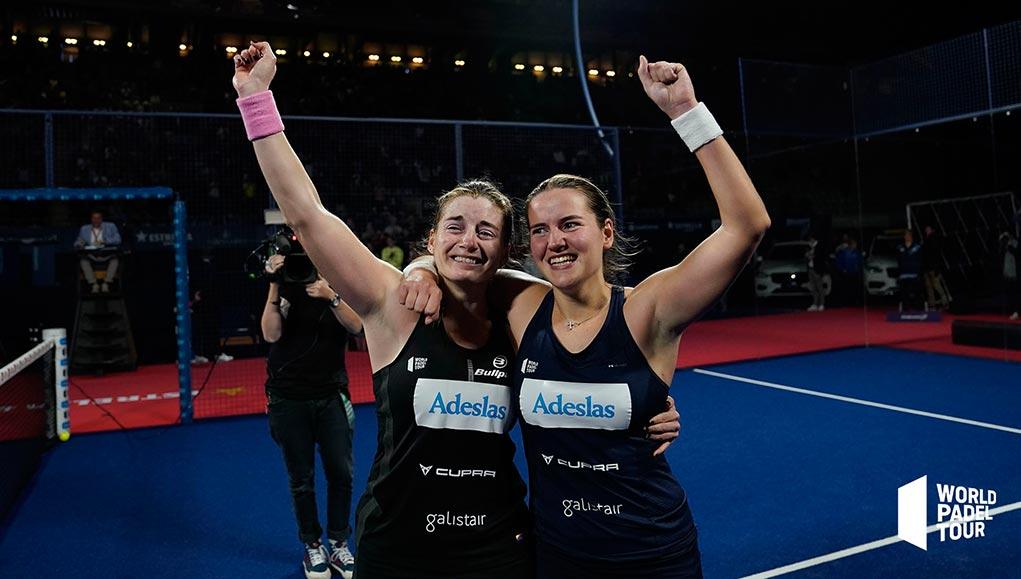 Ale Salazar y Ari Sánchez partirán como lideres del ranking por parejas femeninas en 2020