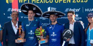 Final del México Open: Maxi y Sanyo vencen a Paquito y Lebrón