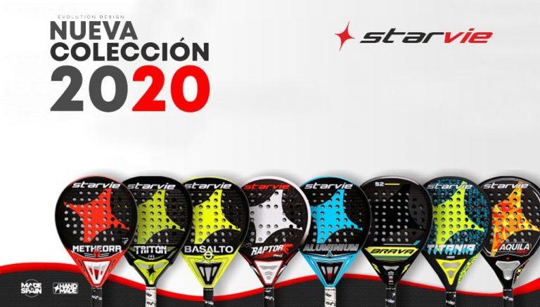 StarVie presenta su nueva colección de palas de pádel para 2020