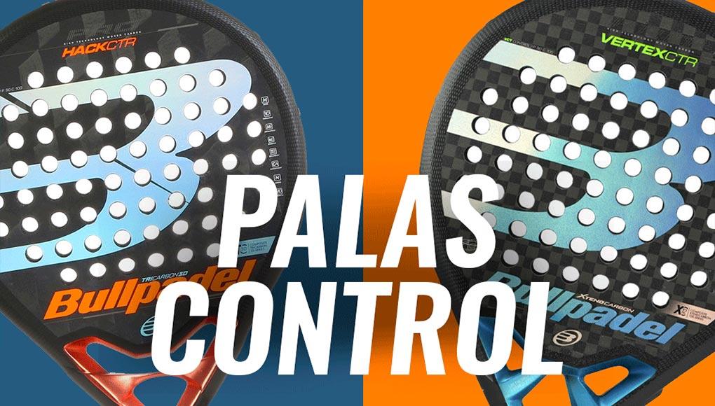 ¿Cuáles son las mejores palas de control Bullpadel en su nueva colección?