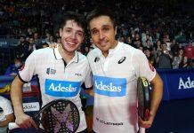 Bela y Tapia eliminan a los números 1 en las semifinales del Master Final