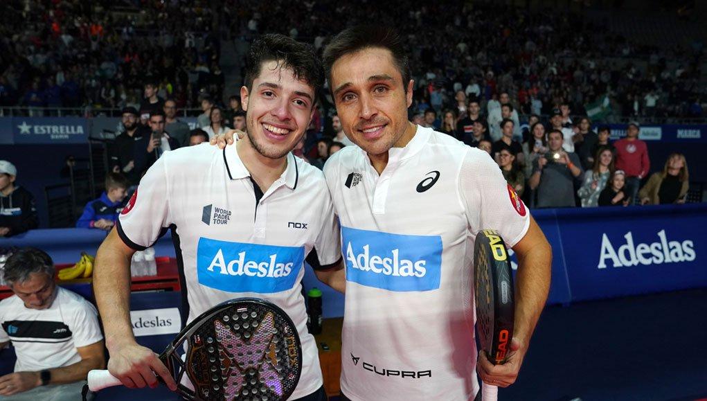 Bela y Tapia parten como pareja 5 en el World Padel Tour 2020