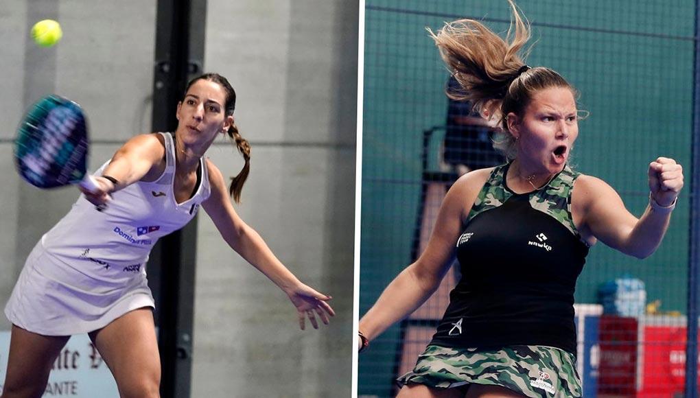 Teresa Navarro y Aranzazu Osoro es una de las nuevas parejas del circuito femenino