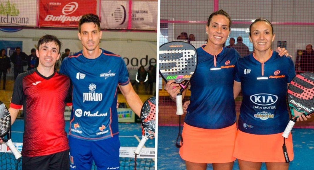 Christian Fuster - Denis Perino y Virginia Riera - Sofía Araújo ganan el FIP Star Burriana