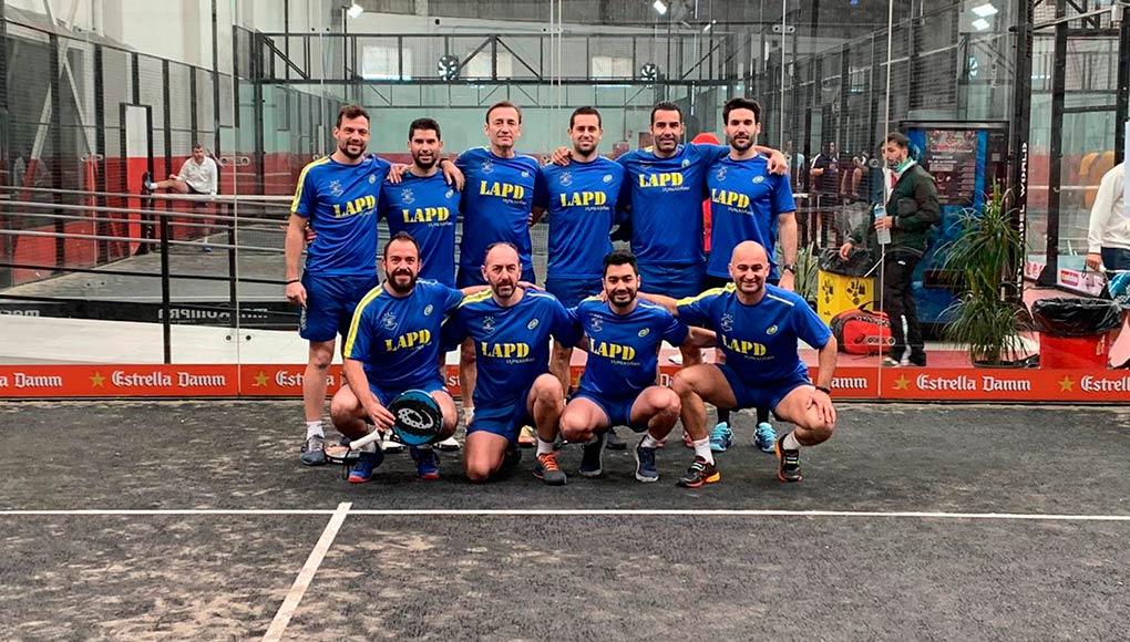 Los Caballeros de Pádel Málaga inician 2020 con una nueva victoria