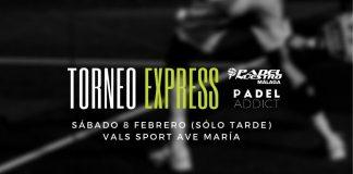 Apúntate ya al Torneo Express Padel Addict del 8 de febrero en Vals Sport Ave María (Málaga)