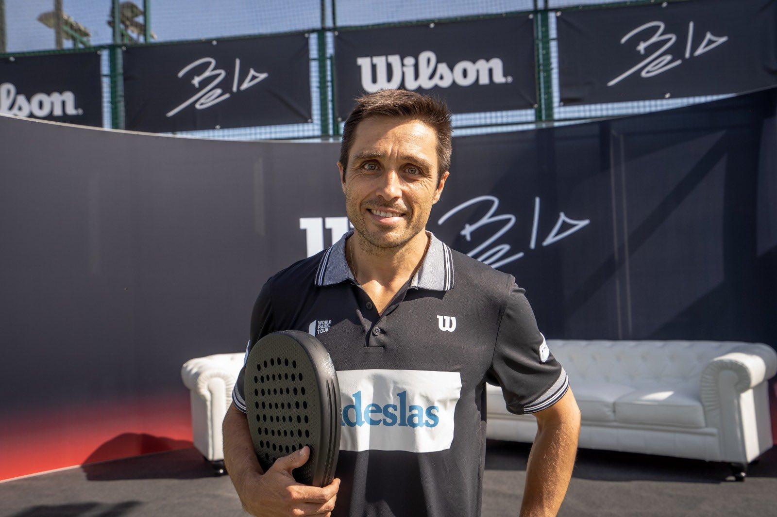 Bela es presentado como jugador Wilson