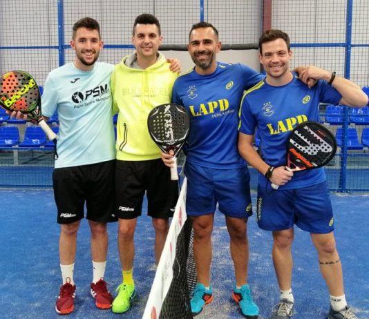 Los Caballeros de Pádel Málaga terminan el año primeros en la liga