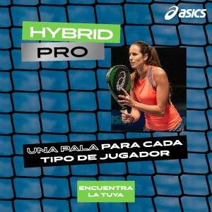 ¡Conoce la pala de pádel Hybrid Pro!