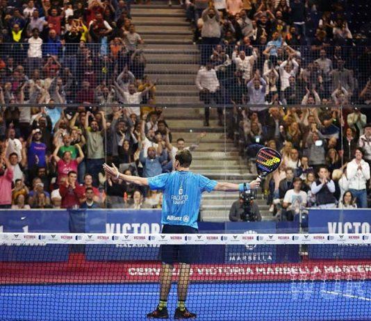 Así fue como Paquito Navarro levantó del asiento a los aficionados del Marbella Master