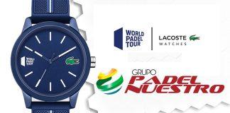 Grupo Padel Nuestro cierra un acuerdo con Lacoste Watches