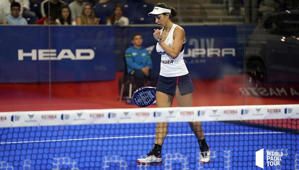 Marta Marrero pasa a liderar en solitario el ranking femenino del World Padel Tour