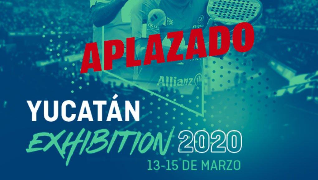 El Coronavirus motiva el aplazamiento del Yucatán Exhibition...y todo tipo de competiciones