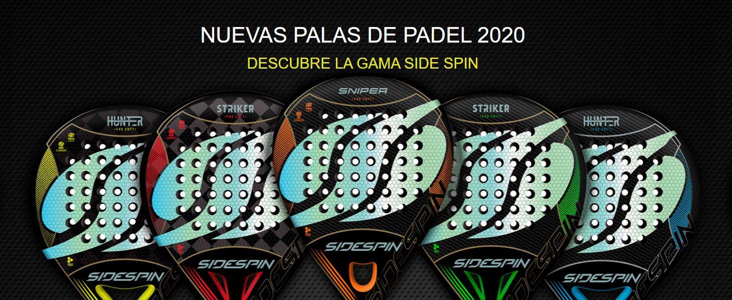 Nuevas palas de pádel Side Spin