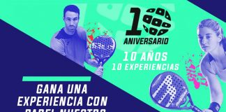 Padel Nuestro gives an unforgettable experience for its anniversary
