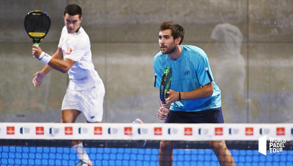 José Carlos Gaspar y Teo Zapata en la pre previa del Estrella Damm Open