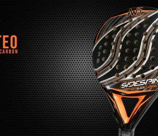¡Sorteamos la pala SideSpin AW5 Black Carbon!
