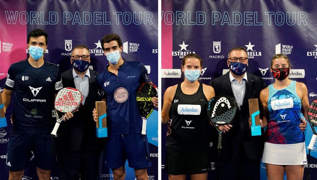 Finales del Estrella Damm Open: Galán - Lebrón y Salazar - Sánchez se imponen en la nueva normalidad