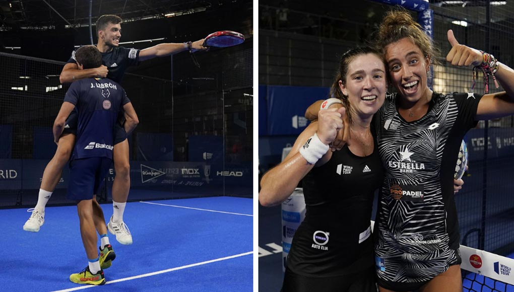 Finales del Vuelve a Madrid Open: ganan Galán/Lebrón y González/Ortega