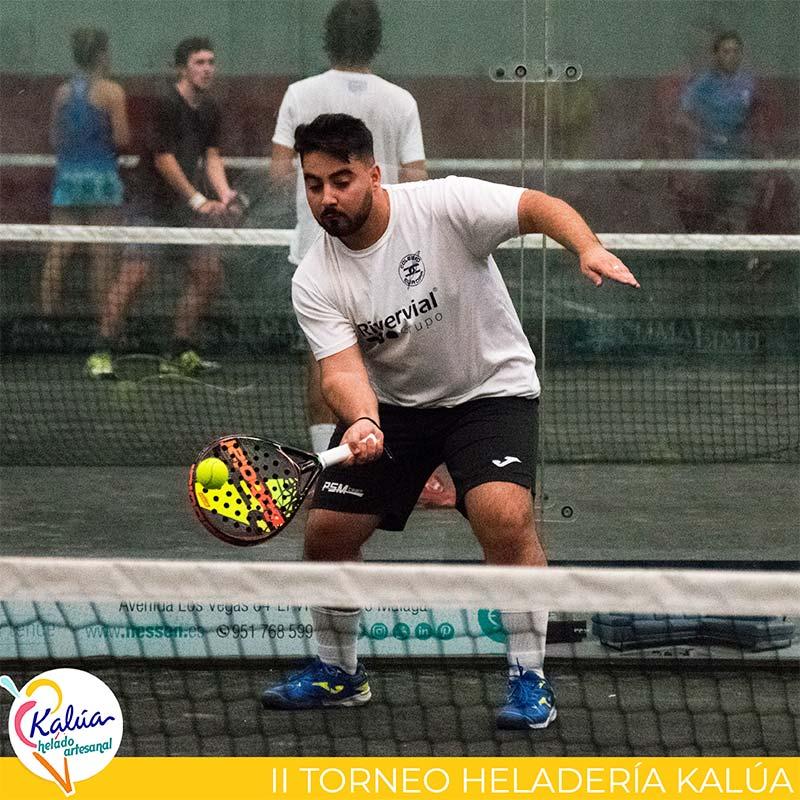 Raúl Rodríguez en el II Torneo Heladería Kalúa