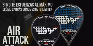 New Wingpadel Air Attack 3.0, exceed your limits