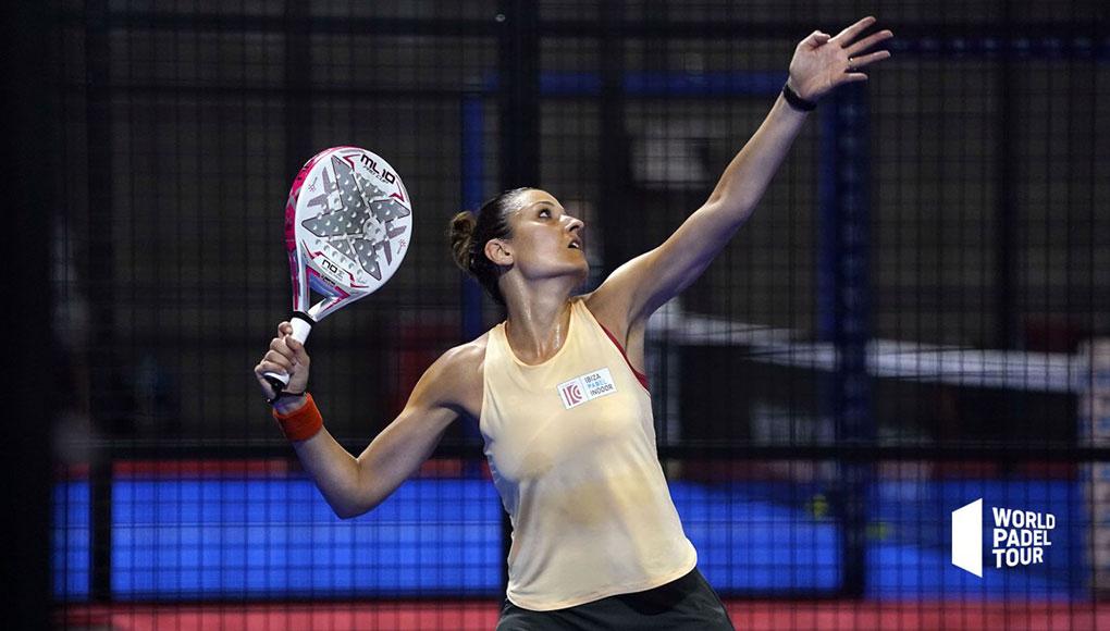 Pilar Escandell durante el Estrella Damm Open