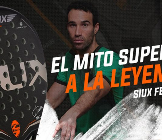 Siux anuncia el lanzamiento de la Siux Fenix, la pala de Javi Ruiz