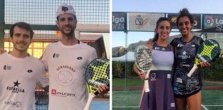 Momo González - Lucas Bergamini y Martita Ortega - Bea González ganan el Campeonato de España Sub-23