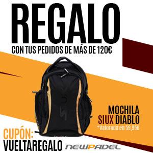 ¡Obtén esta mochila de regalo con tus pedidos de más de 120€!