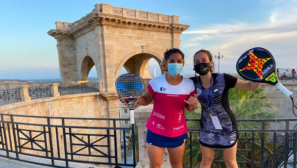 Andreína de Los Santos y Julia Polo, al cuadro principal del Sardegna Open