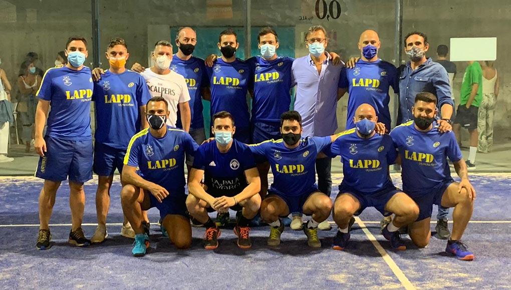 Semifinales contra Club de Tenis Málaga (3-2)