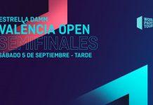 Sigue el streaming de las semifinales del Estrella Damm Valencia Open
