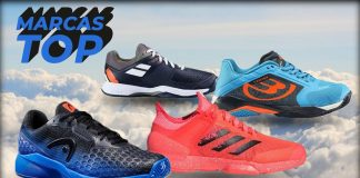 The best brands of sneakers pádel