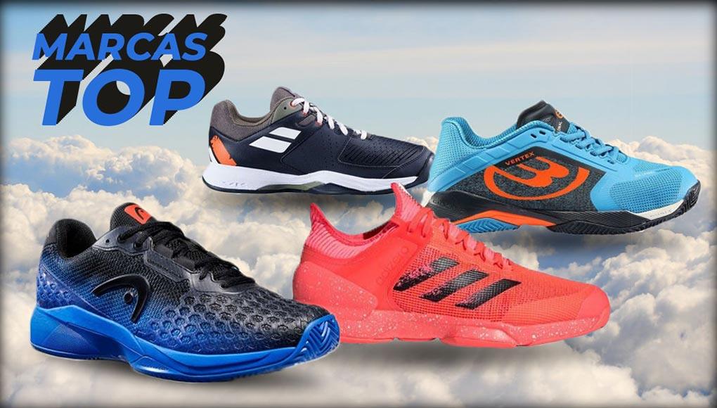 Las mejores marcas de zapatillas de pádel